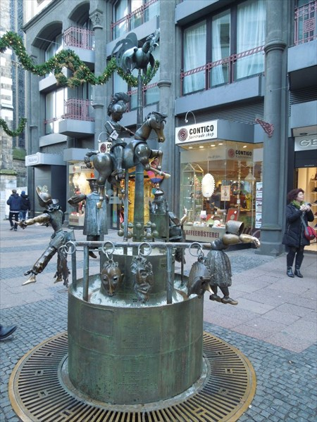 Кукольный фонтан