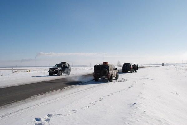 На границе Челябинской и Тюменской области