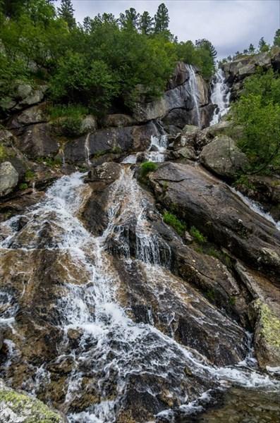 Водопад озера Горных Духов