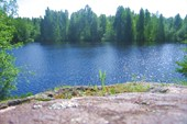 Чудесное озеро - Светлое