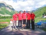 Наша команда перед восхождением
