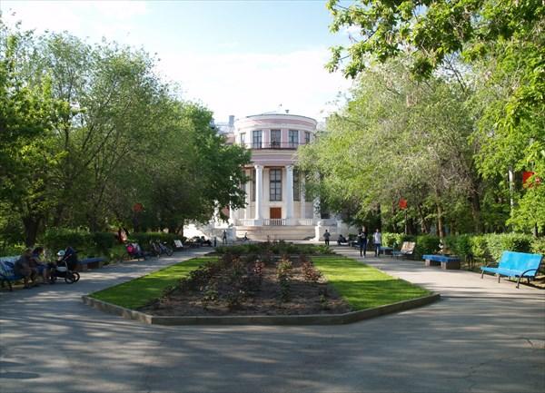 В городском парке Ахтубинска