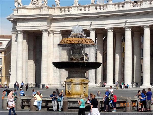 Площадь св. Петра.