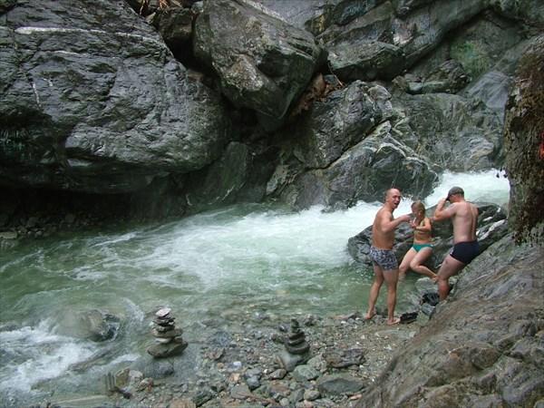 Отличная водичка в речке