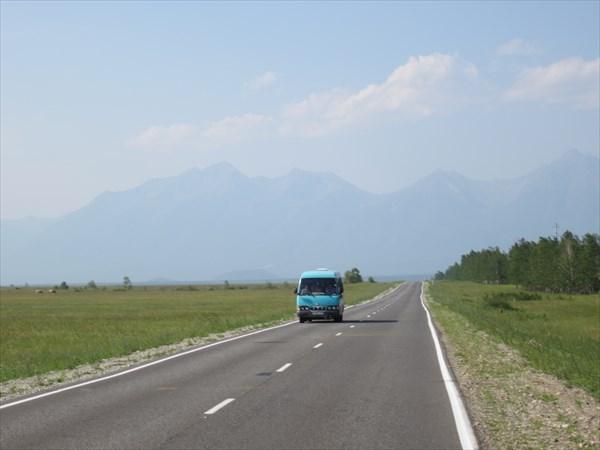 До гор почти 30 км