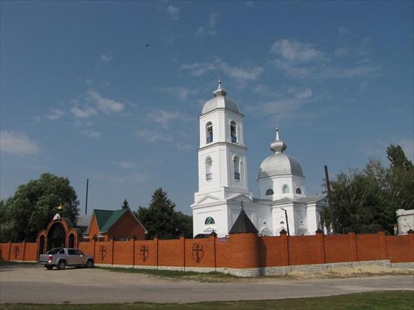 Монастырь в Ожоге (Ивановке)