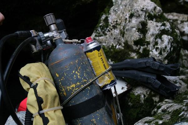 в пещере разные газы нужны