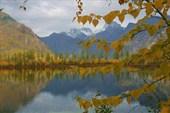 `предгорное` озеро