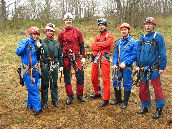 на фото: первая группа готова