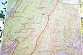 Карта нац.парка Таганай