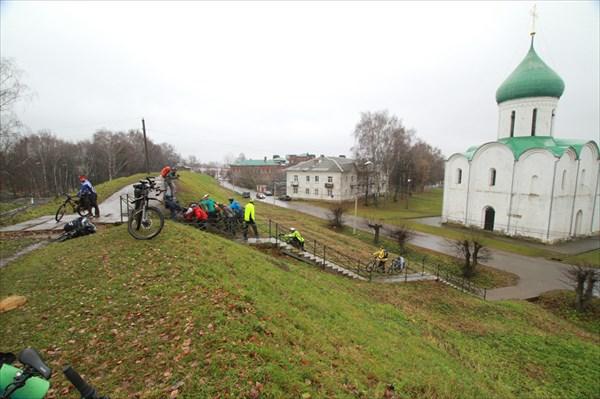 Вал в Переславле