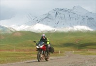 Рядом с границей Киргизии и Таджикистана