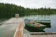 На лодочной станции у озера Верх.Перт