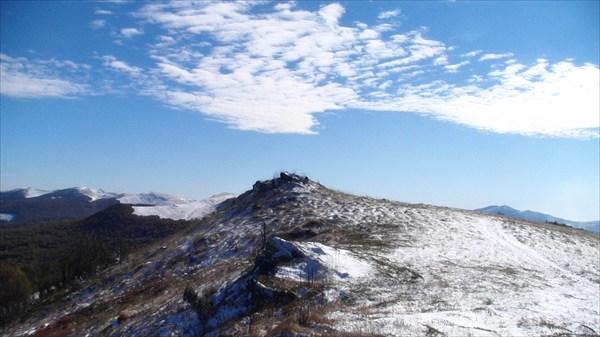 Горы и небо вызывают восхищение