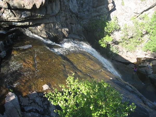 на фото: Водопад Гадельша