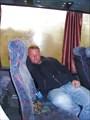 Я по дороге (сплю) в автобусе..