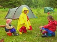 По Чусовой с детьми -- участники путешествия.