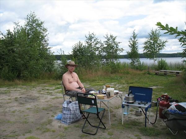Первый обед в Финляндии
