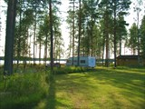 В кемпинге в Финляндии