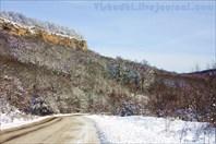Дорога на вершине плато
