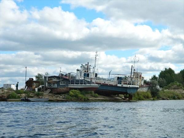 Порт Усолка.