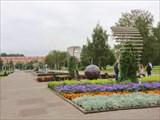 Пермь, сквер 250-летия города.