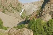 Подъём на плато Куликалоновских озёр