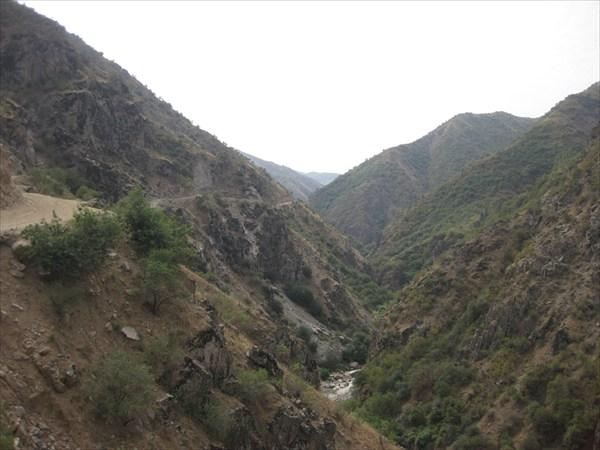 Дорога на перевал Рангинов