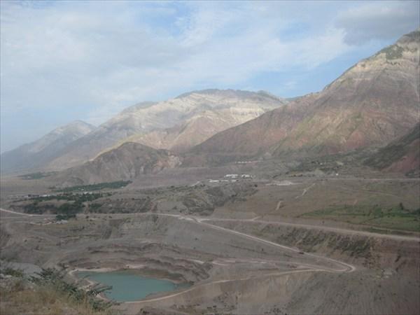 Карьер у Рогунской ГЭС