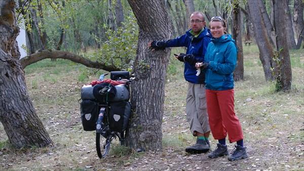 Польские велотуристы