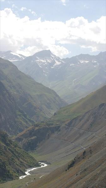 Зеравшанский хребет