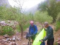 Уходим в ущелье реки Ушрут