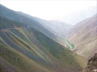 Подъём на перевал Шахристан