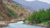 Дорога вдоль р. Сардай-Миена