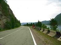 Фото. 79. Дорога из Майны в Черемушки вдоль Енисея