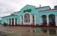 Фото. 1. Сбор на ЖД-вокзале Междуреченска перед стартом