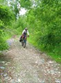 Фото. 11. Саня на спуске с пер. 706 м.