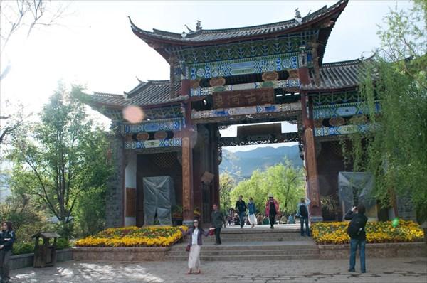 на фото: Ворота в рай