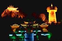 Храм в ночи