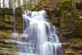 Водопад на Мащёном ручье