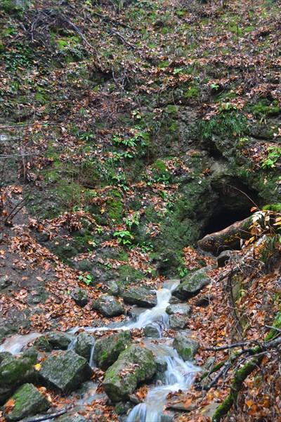 Пещера Большая Фанагорийская (вход)