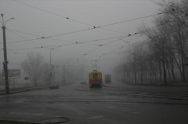 Трамвай в тумане