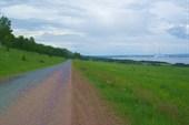 Дорога проходит мимо Белозерской эл. станции.