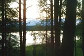 Вечер на озере Полоновка