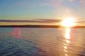 Рассвет на Кровотынском плёсе