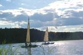 Под парусом на Белом озере