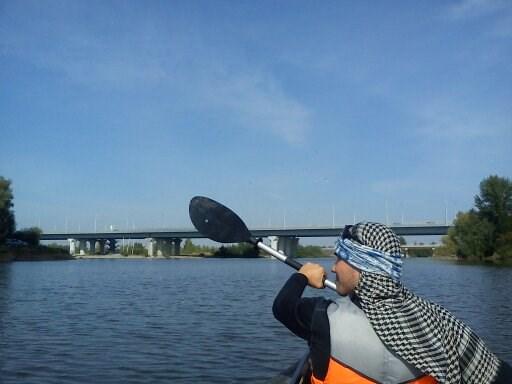 А вот и Бугринский Мост