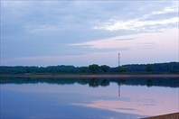 Другая сторона заката-Можайское водохранилище
