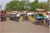 Велорикши и моторикши в Дели