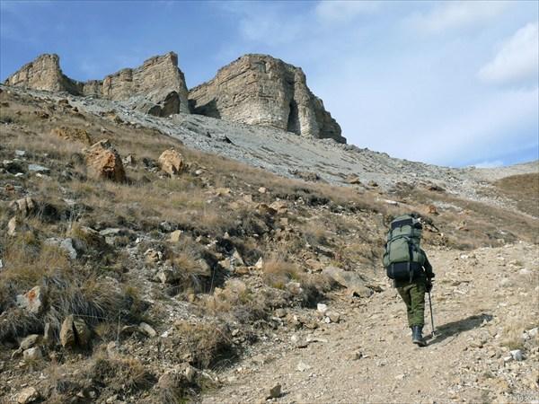 Подходим к плато Бермамыт.